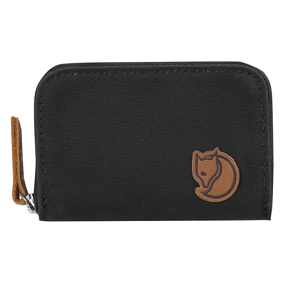 Fjallraven Zip Card Holder Dark Grey - Fjallraven Travel Wallets - Travel Accessories, Travel Wallets