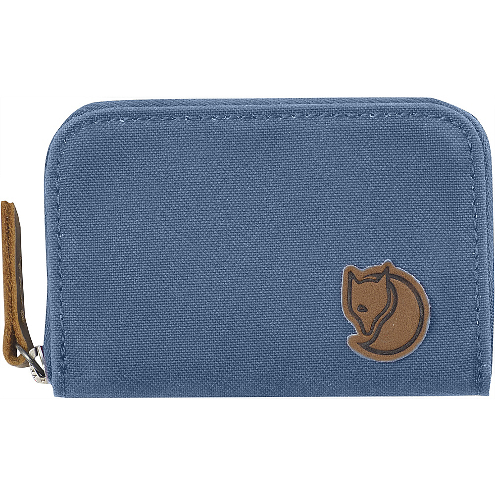 Fjallraven Zip Card Holder Blue Ridge - Fjallraven Travel Wallets - Travel Accessories, Travel Wallets