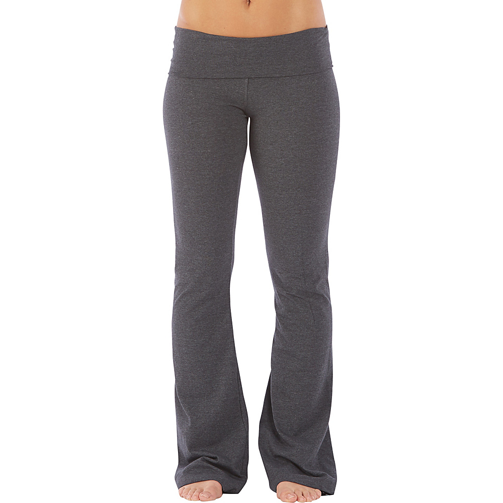 Electric Yoga Essential Boot Leg Pants S Charcoal Electric Yoga Women s Apparel