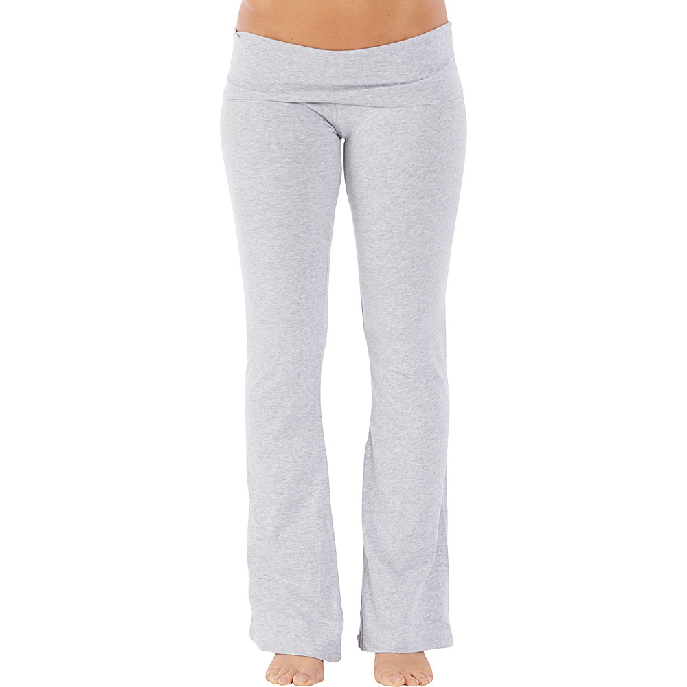 Electric Yoga Essential Boot Leg Pants S Heather Grey Electric Yoga Women s Apparel