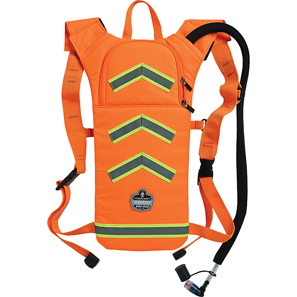 Ergodyne 5155HV Hi Vis Low Profile Hydration Pack Orange Ergodyne Hydration Packs and Bottles
