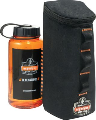 Ergodyne 5580 PALS Water Bottle Pouch Black - Ergodyne Hydration Packs and Bottles