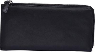 Silent Pocket V2 RFID Secure Carryall Clutch Black - Silent Pocket Travel Wallets