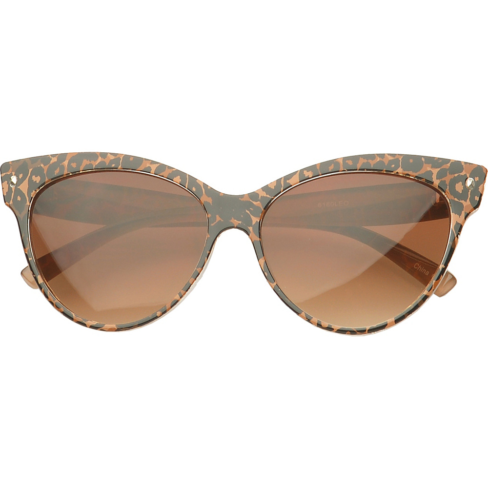 SW Global Eyewear Maryville Cat eye Fashion Sunglasses Brown - SW Global Sunglasses - Fashion Accessories, Sunglasses