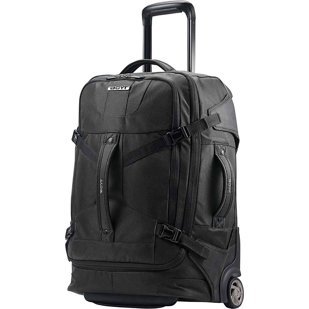 Boyt Edge Softside Upright Duffel 21 Deep Black - Boyt Wheeled Duffels