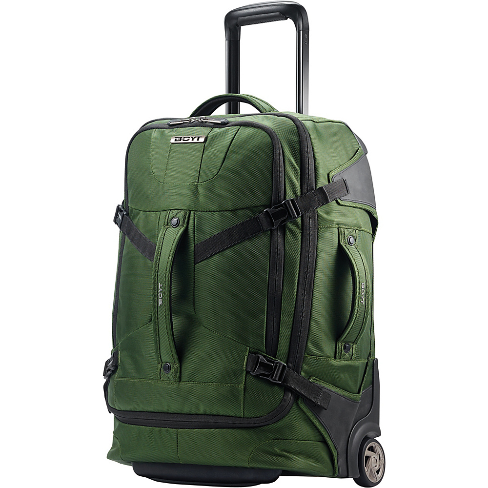 Boyt Edge Softside Upright Duffel 21 Forest Green - Boyt Travel Duffels