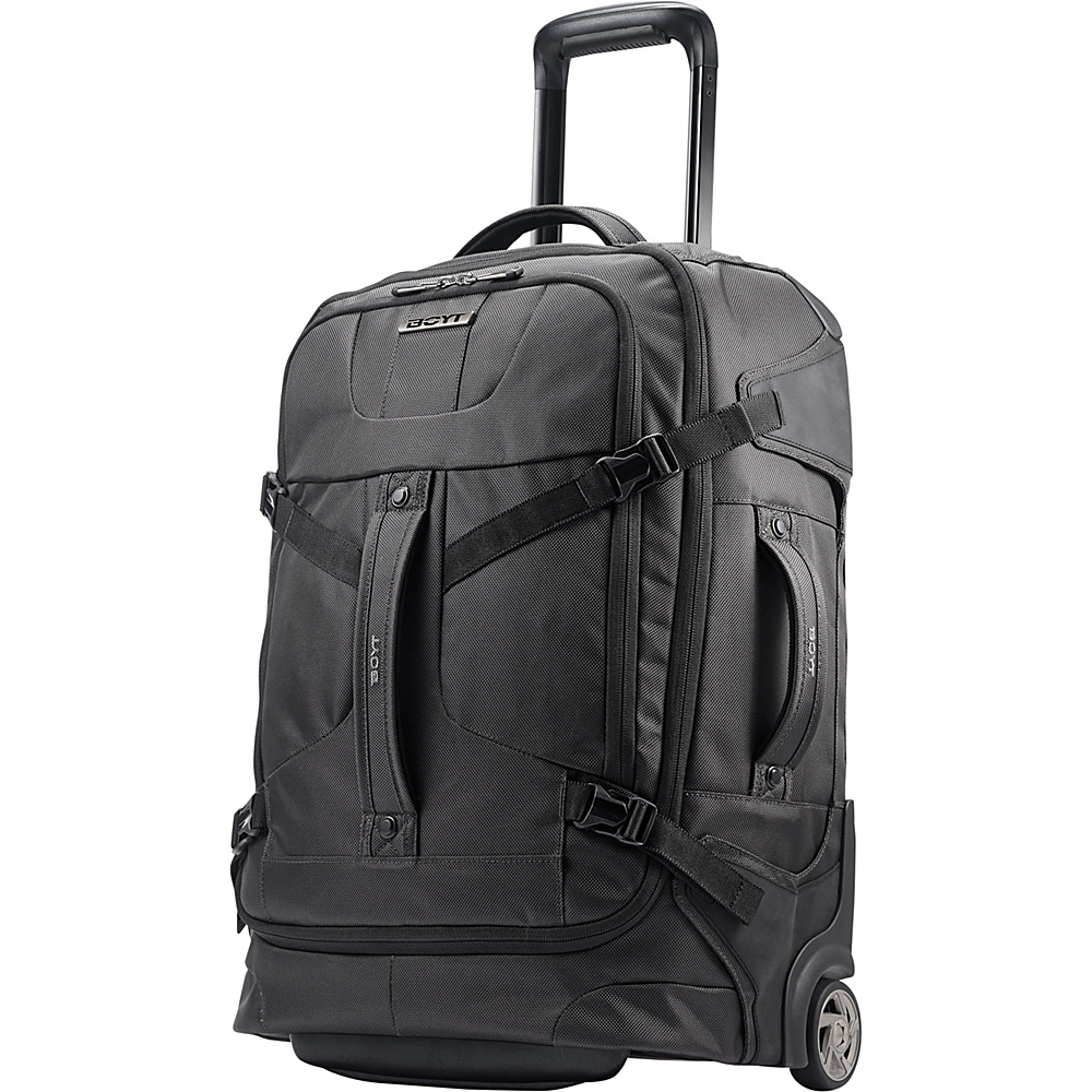 Boyt Edge Softside Upright Duffel 21 Steel Grey - Boyt Wheeled Duffels