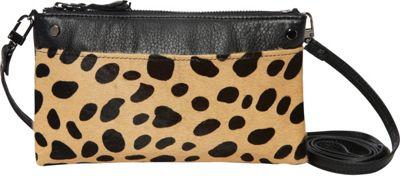 MOFE Sonder Crossbody Cheetah Pony Hair - MOFE Leather Handbags