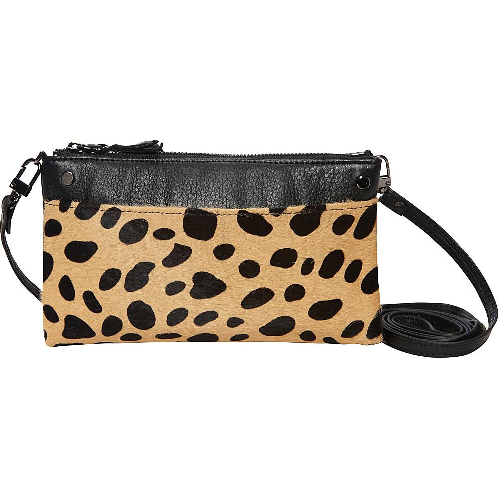 MOFE Sonder Crossbody Cheetah Pony Hair MOFE Leather Handbags
