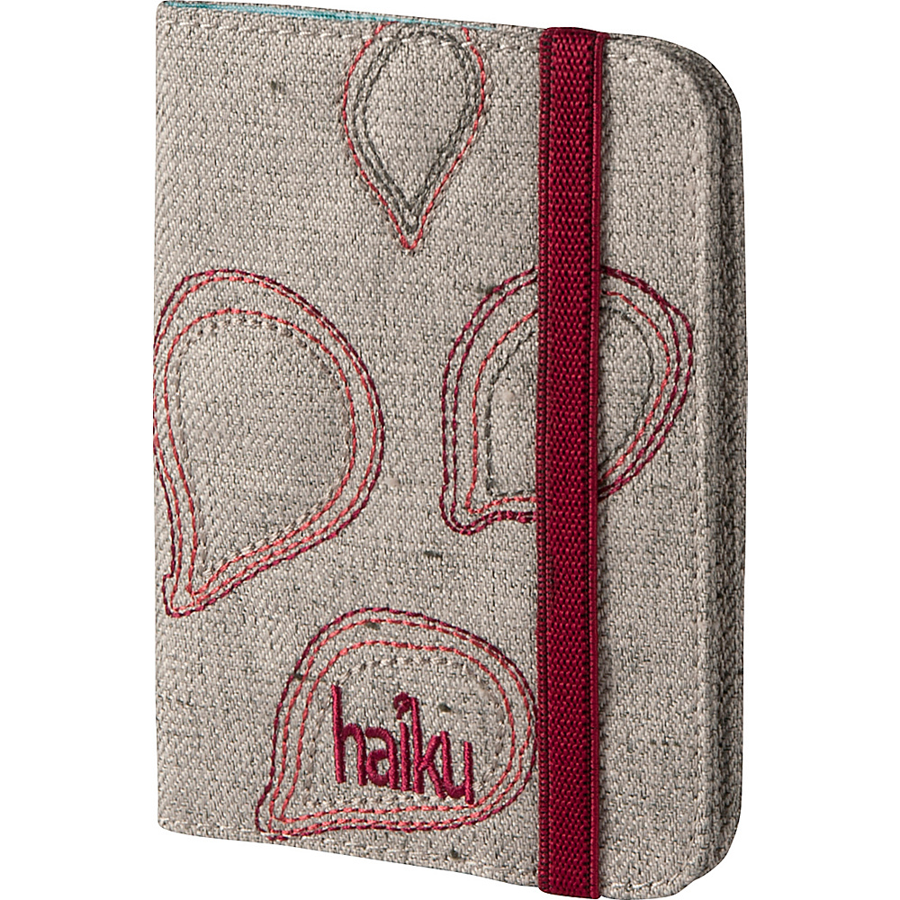 Haiku Trek RFID Passport Sleeve Mushroom Haiku Travel Wallets