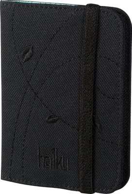 Haiku Trek RFID Passport Sleeve Black - Haiku Travel Wallets
