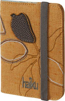 Haiku Trek RFID Passport Sleeve Amber Gold - Haiku Travel Wallets