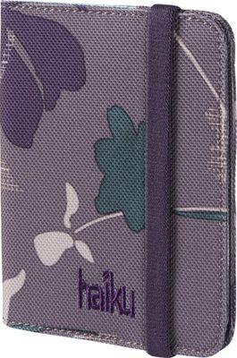 Haiku Trek RFID Passport Sleeve Flower Fall Print - Haiku Travel Wallets