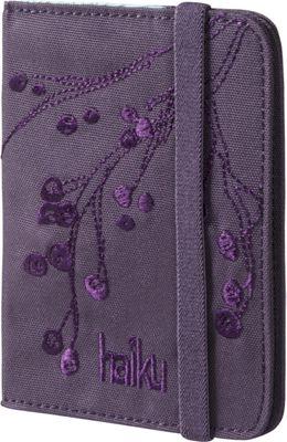 Haiku Trek RFID Passport Sleeve Amethyst - Haiku Travel Wallets