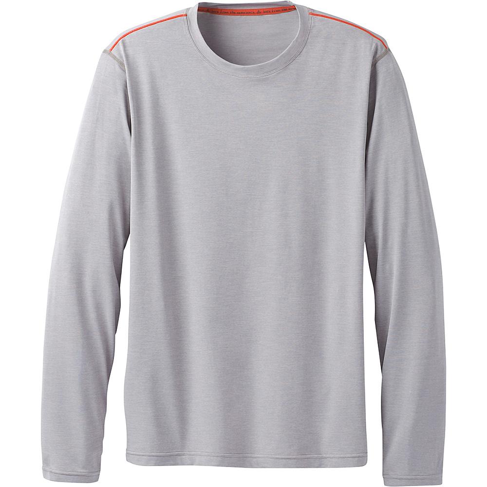 PrAna Calder Long Sleeve Shirt XXL - Grey - PrAna Mens Apparel - Apparel & Footwear, Men's Apparel