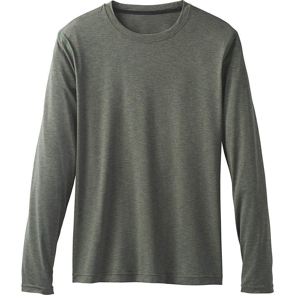 PrAna Calder Long Sleeve Shirt M - Forest Green - PrAna Mens Apparel - Apparel & Footwear, Men's Apparel