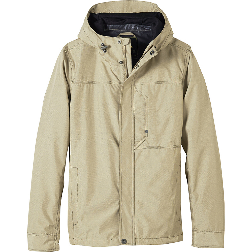 PrAna Roughlock Jacket S - Dark Khaki - PrAna Mens Apparel - Apparel & Footwear, Men's Apparel