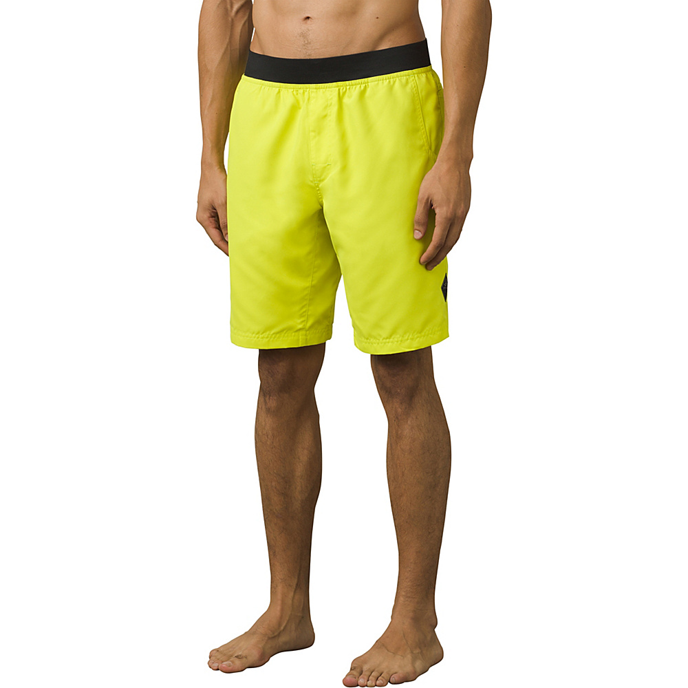 PrAna Mojo Shorts M - Sulphur - PrAna Mens Apparel - Apparel & Footwear, Men's Apparel