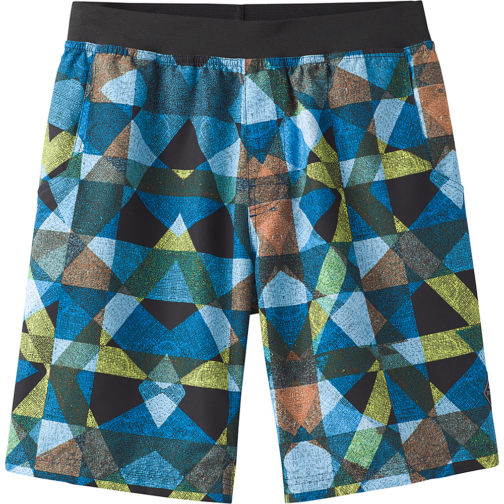 PrAna Mojo Shorts M - Vortex Blue Dune - PrAna Mens Apparel - Apparel & Footwear, Men's Apparel