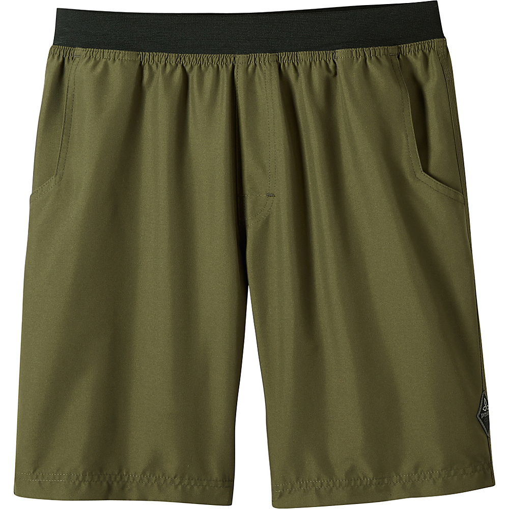 PrAna Mojo Shorts S - Cargo Green - PrAna Mens Apparel - Apparel & Footwear, Men's Apparel