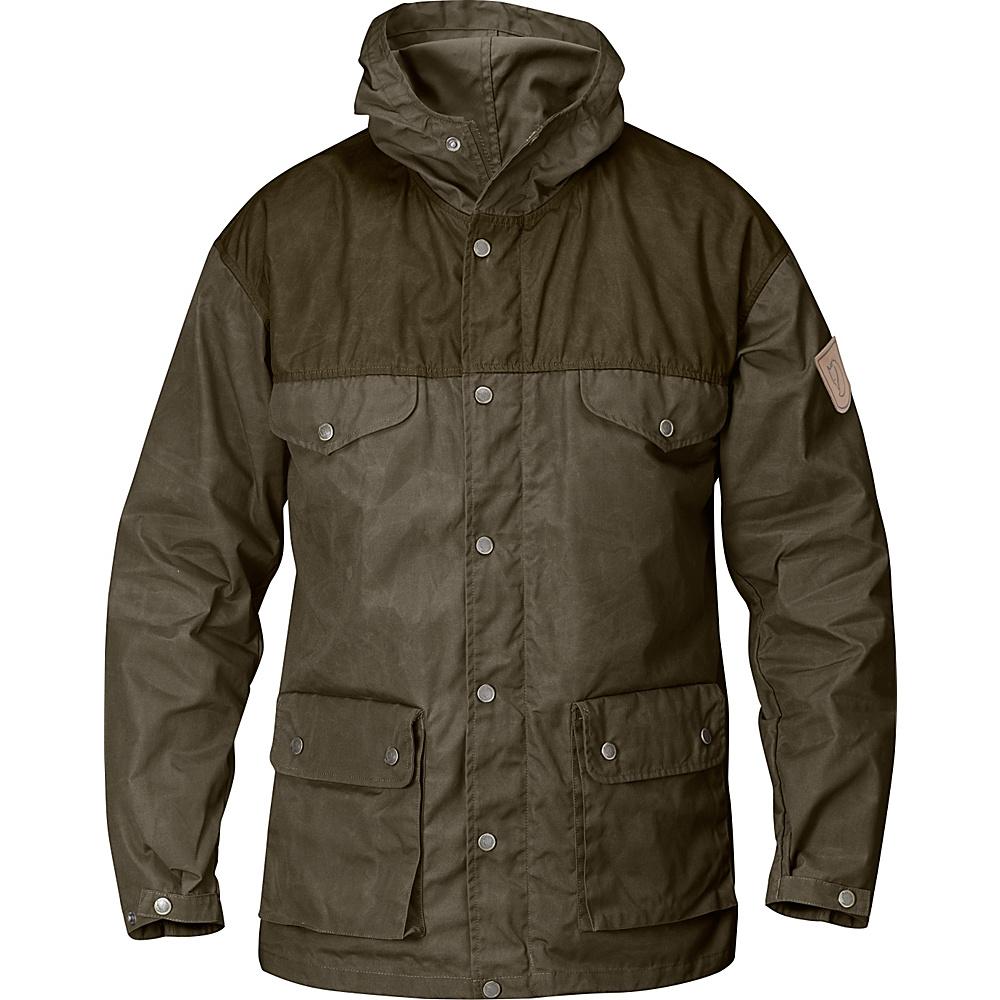 Fjallraven Greenland Jacket XS - Tarmac/Dark Olive - Fjallraven Womens Apparel - Apparel & Footwear, Women's Apparel