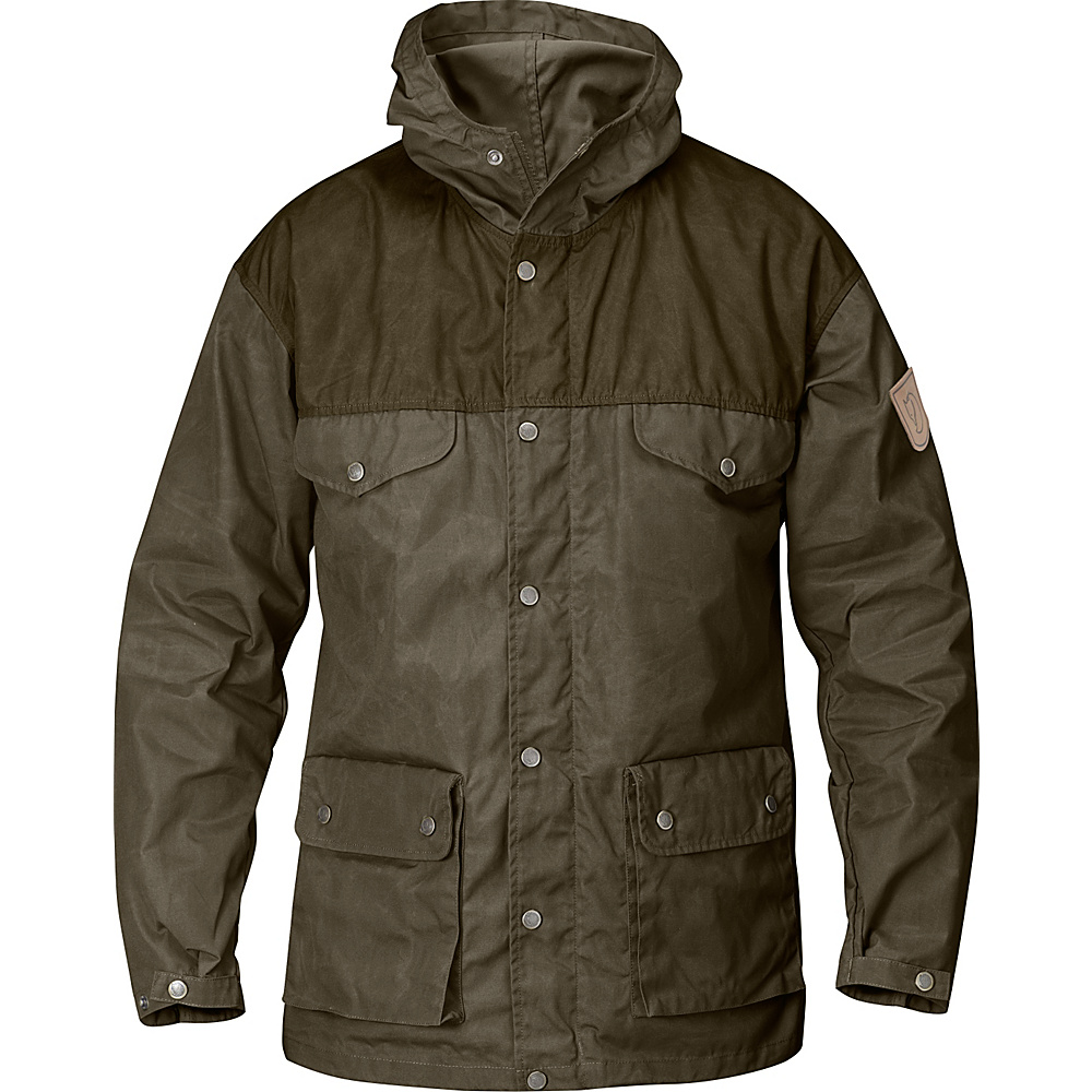 Fjallraven Greenland Jacket S - Tarmac/Dark Olive - Fjallraven Womens Apparel - Apparel & Footwear, Women's Apparel