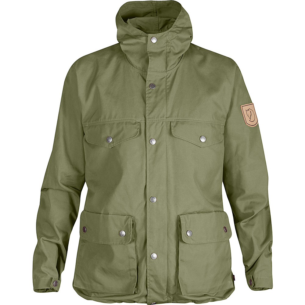 Fjallraven Womens Greenland Jacket S - Green - Fjallraven Mens Apparel - Apparel & Footwear, Men's Apparel