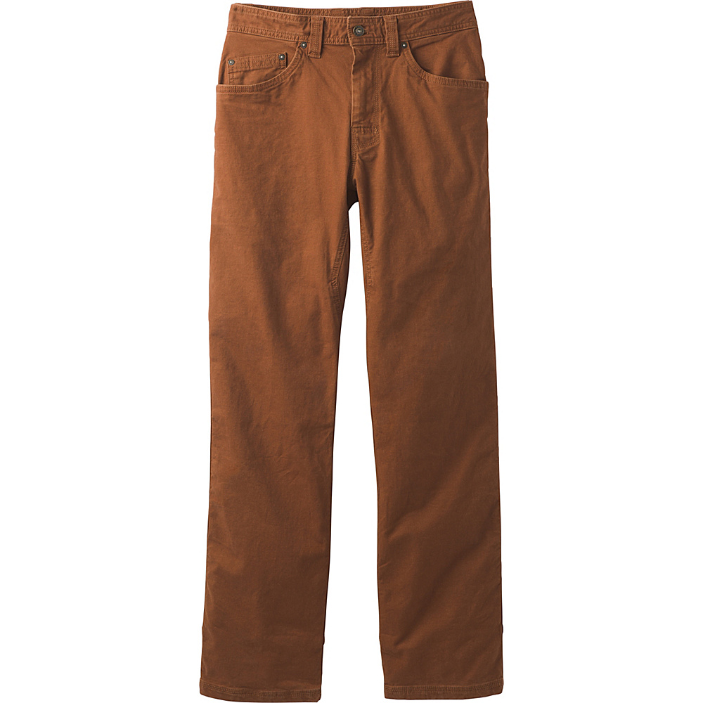 PrAna Bronson Pants - 30 Inseam 34 - Auburn - PrAna Mens Apparel - Apparel & Footwear, Men's Apparel