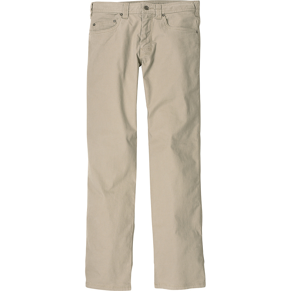 PrAna Bronson Pants - 30 Inseam 28 - Dark Khaki - PrAna Mens Apparel - Apparel & Footwear, Men's Apparel