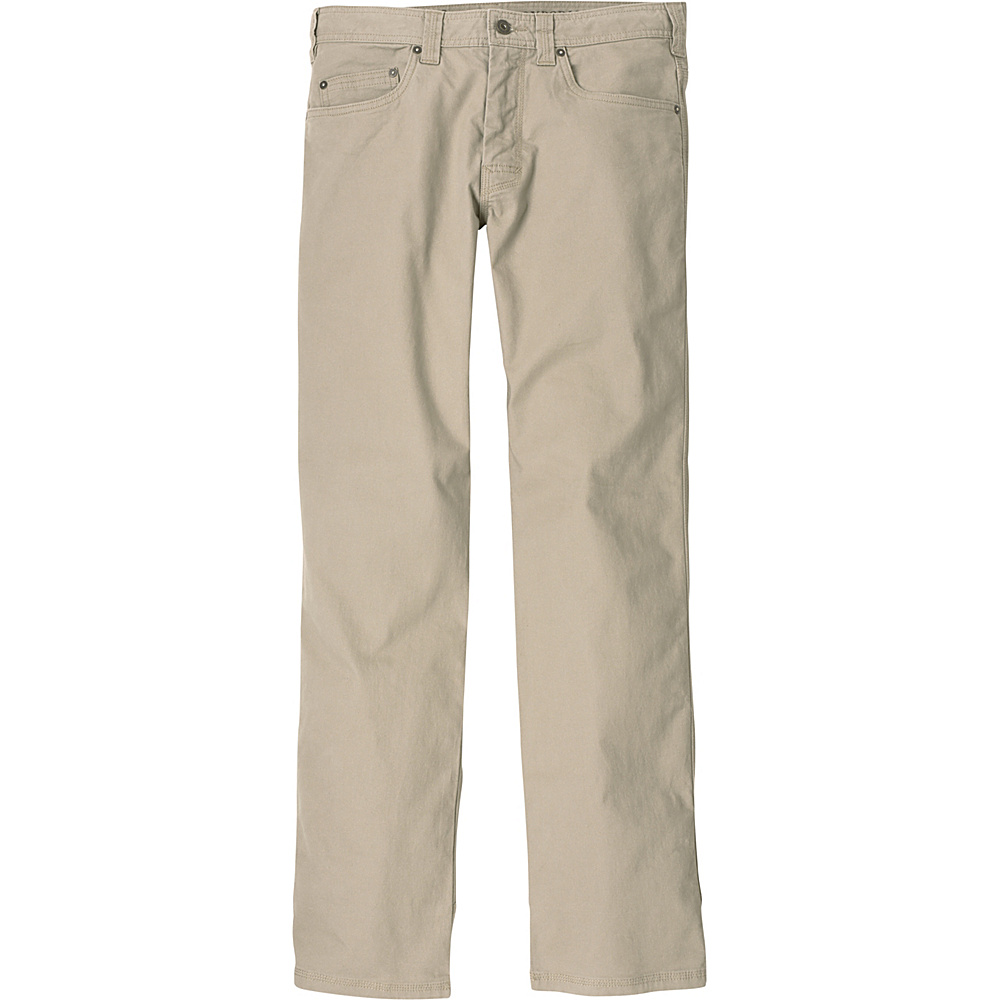 PrAna Bronson Pants - 30 Inseam 34 - Dark Khaki - PrAna Mens Apparel - Apparel & Footwear, Men's Apparel