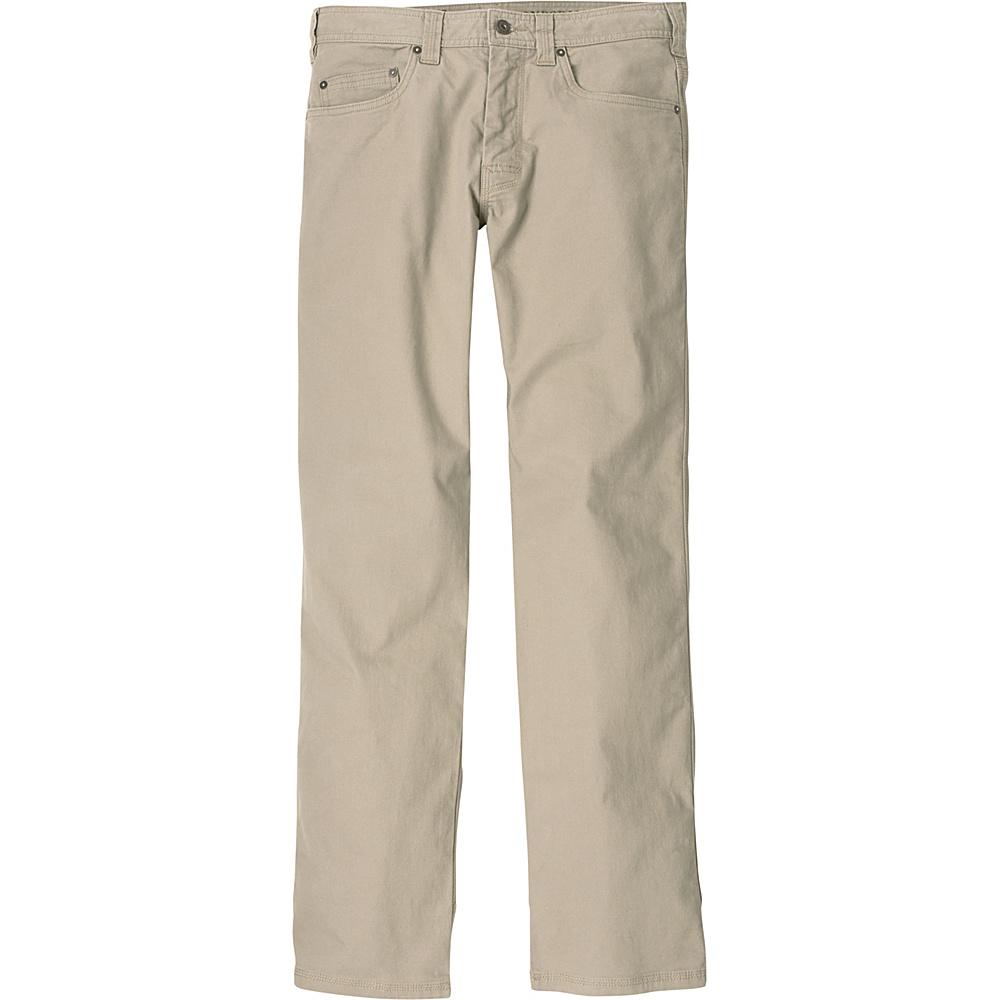 PrAna Bronson Pants - 30 Inseam 36 - Dark Khaki - PrAna Mens Apparel - Apparel & Footwear, Men's Apparel