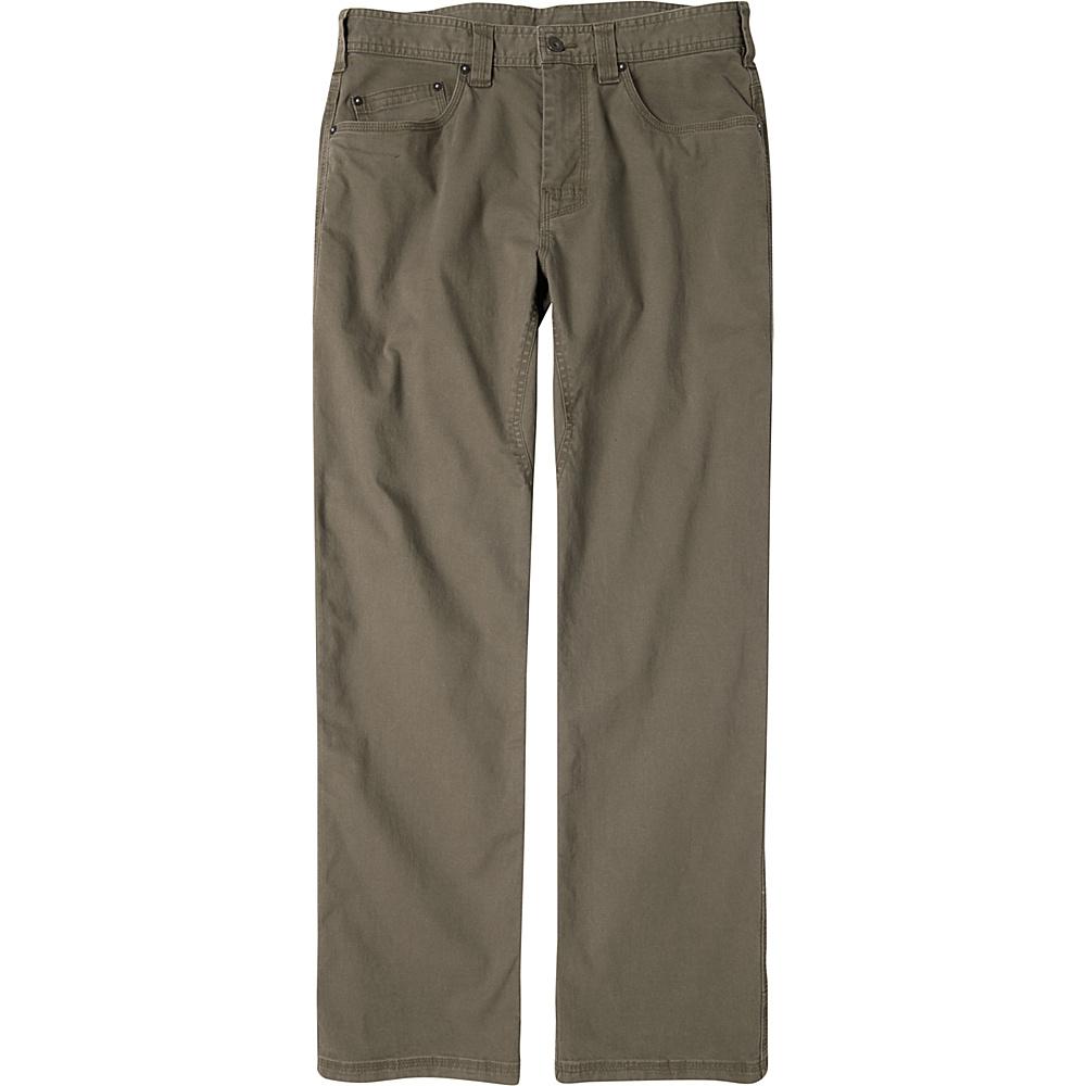 PrAna Bronson Pants - 30 Inseam 34 - Mud - PrAna Mens Apparel - Apparel & Footwear, Men's Apparel