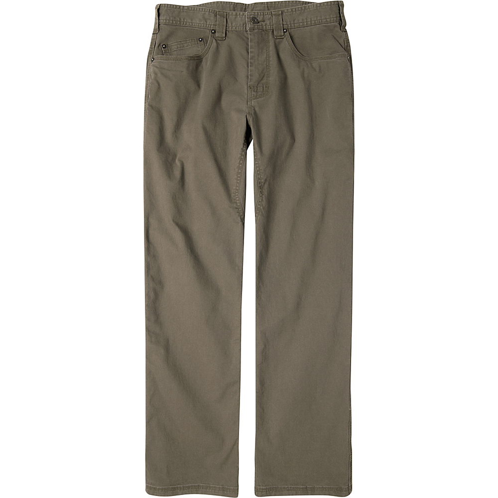PrAna Bronson Pants - 30 Inseam 36 - Mud - PrAna Mens Apparel - Apparel & Footwear, Men's Apparel
