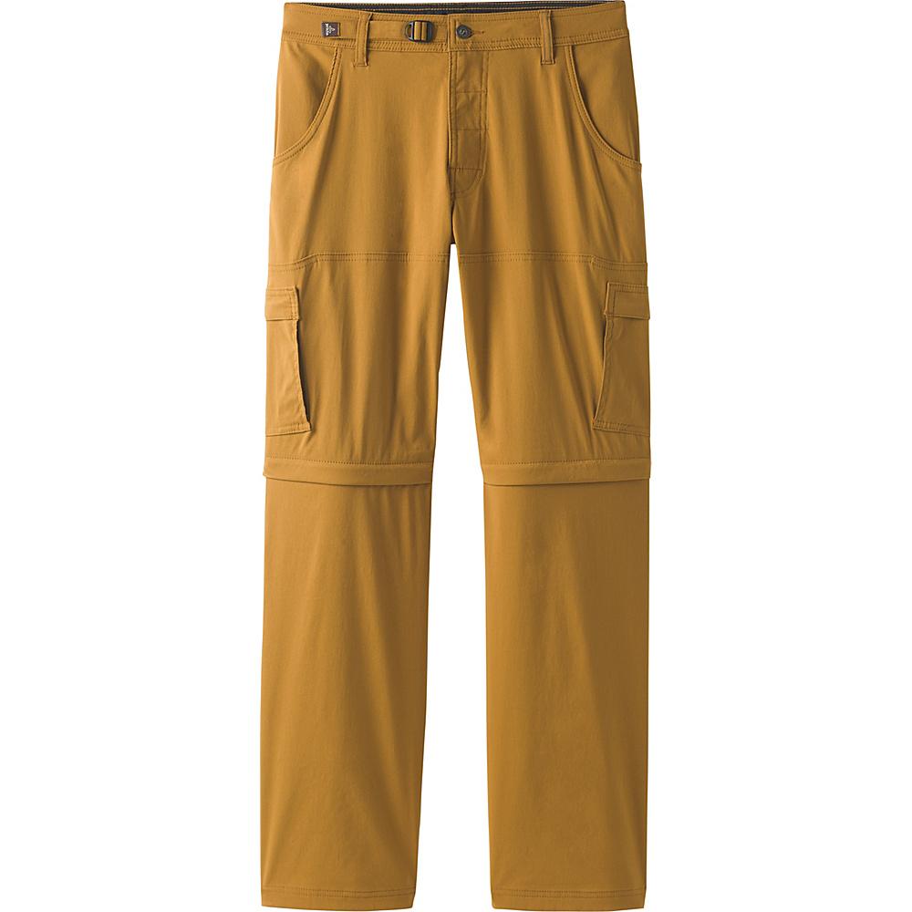PrAna Stretch Zion Convertible Pants - 32 Inseam 36 - Charcoal - PrAna Mens Apparel - Apparel & Footwear, Men's Apparel