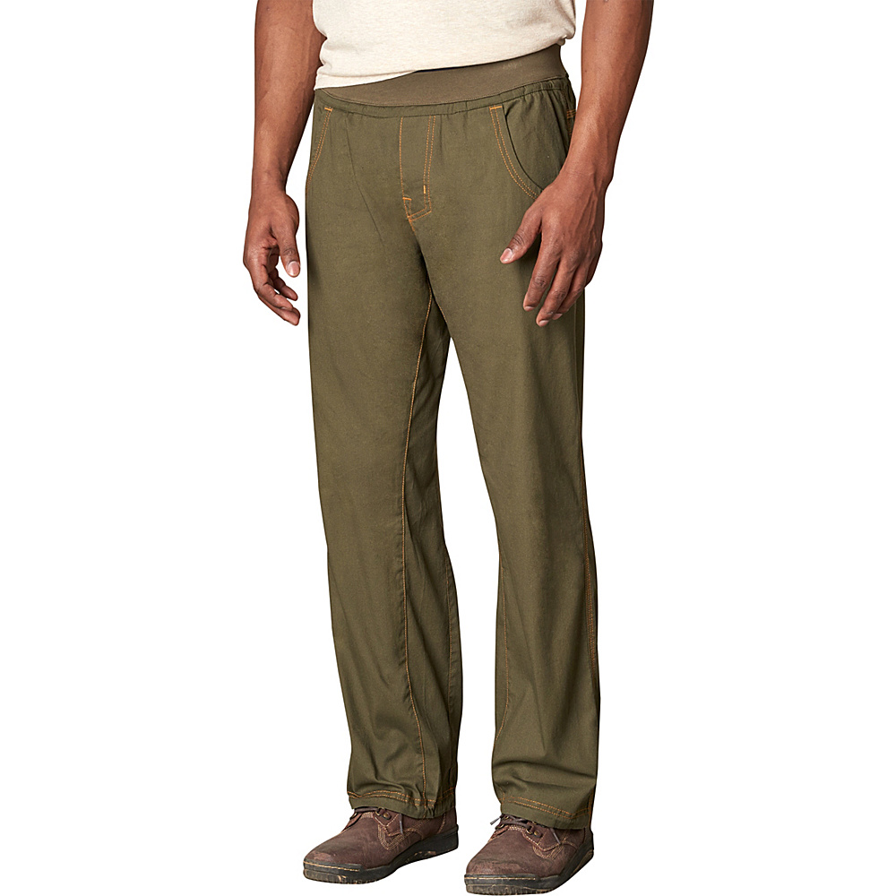 PrAna Zander Pants 2XL - Cayenne - PrAna Mens Apparel - Apparel & Footwear, Men's Apparel
