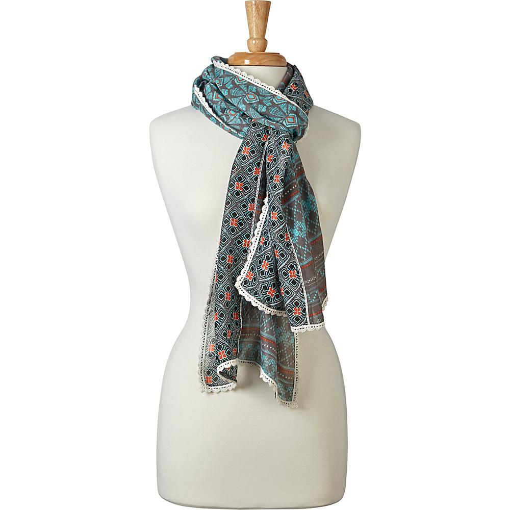 PrAna Carmen Scarf Emerald - PrAna Hats/Gloves/Scarves - Fashion Accessories, Hats/Gloves/Scarves