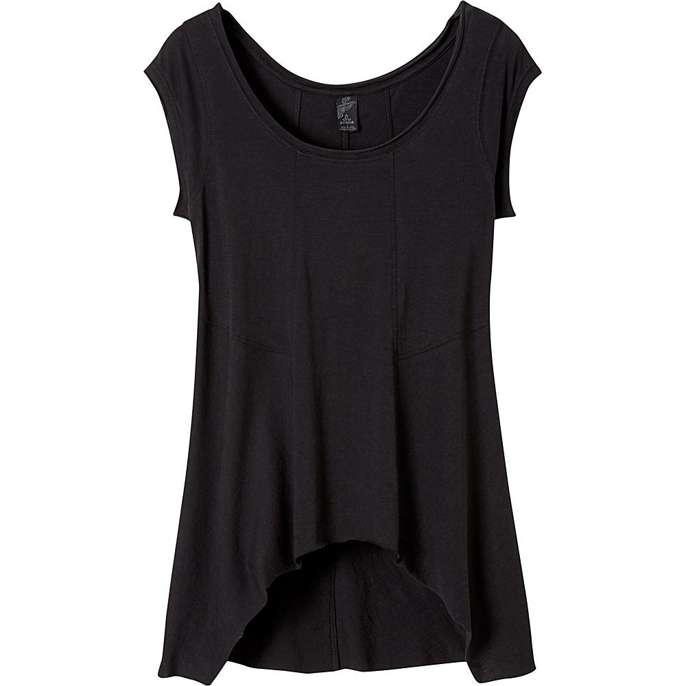 PrAna Lauriel Top M - Black - PrAna Womens Apparel - Apparel & Footwear, Women's Apparel