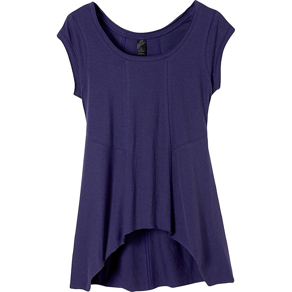 PrAna Lauriel Top S - Indigo - PrAna Womens Apparel - Apparel & Footwear, Women's Apparel