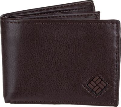 Columbia X-Capacity Slimfold Wallet with RFID protection Brown - Columbia Men's Wallets