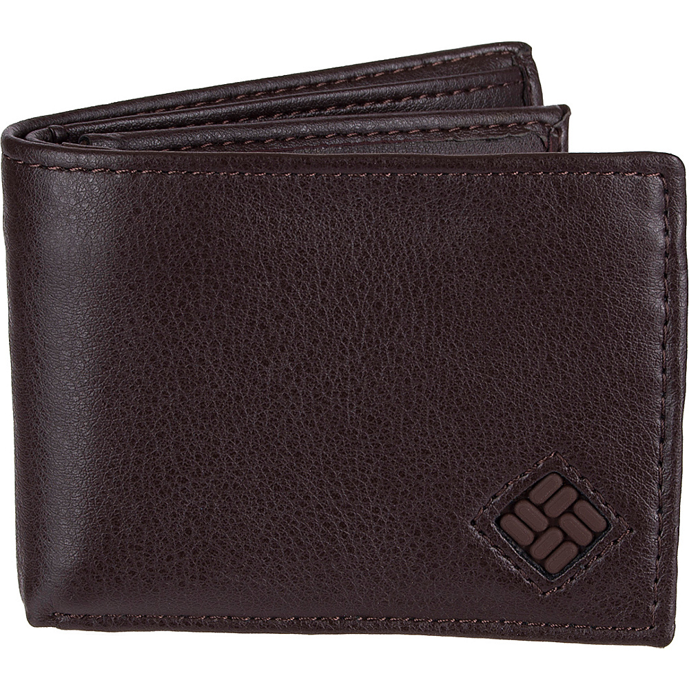 Columbia X Capacity Slimfold Wallet with RFID protection Brown Columbia Men s Wallets
