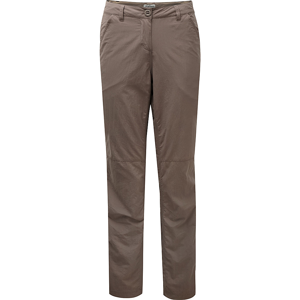 Craghoppers Nosilife Trousers - Regular 4 - Cafe Au Lait - Craghoppers Womens Apparel - Apparel & Footwear, Women's Apparel