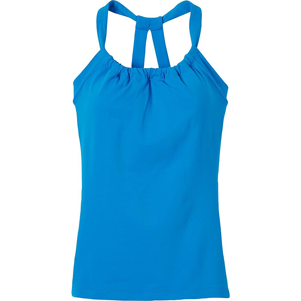 PrAna Quinn Chakara Top M - Electro Blue - PrAna Womens Apparel - Apparel & Footwear, Women's Apparel