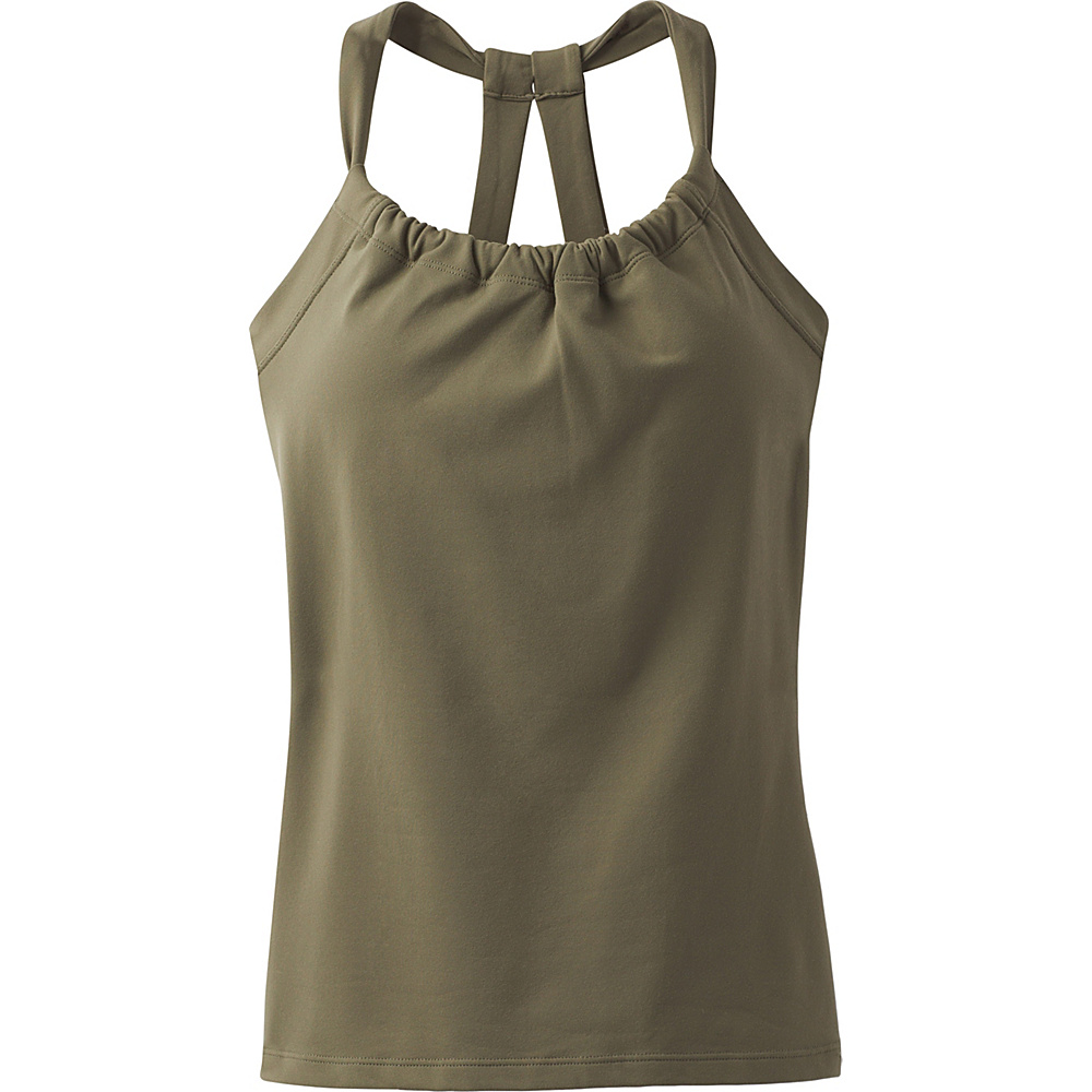 PrAna Quinn Chakara Top XL - Cargo Green - PrAna Womens Apparel - Apparel & Footwear, Women's Apparel