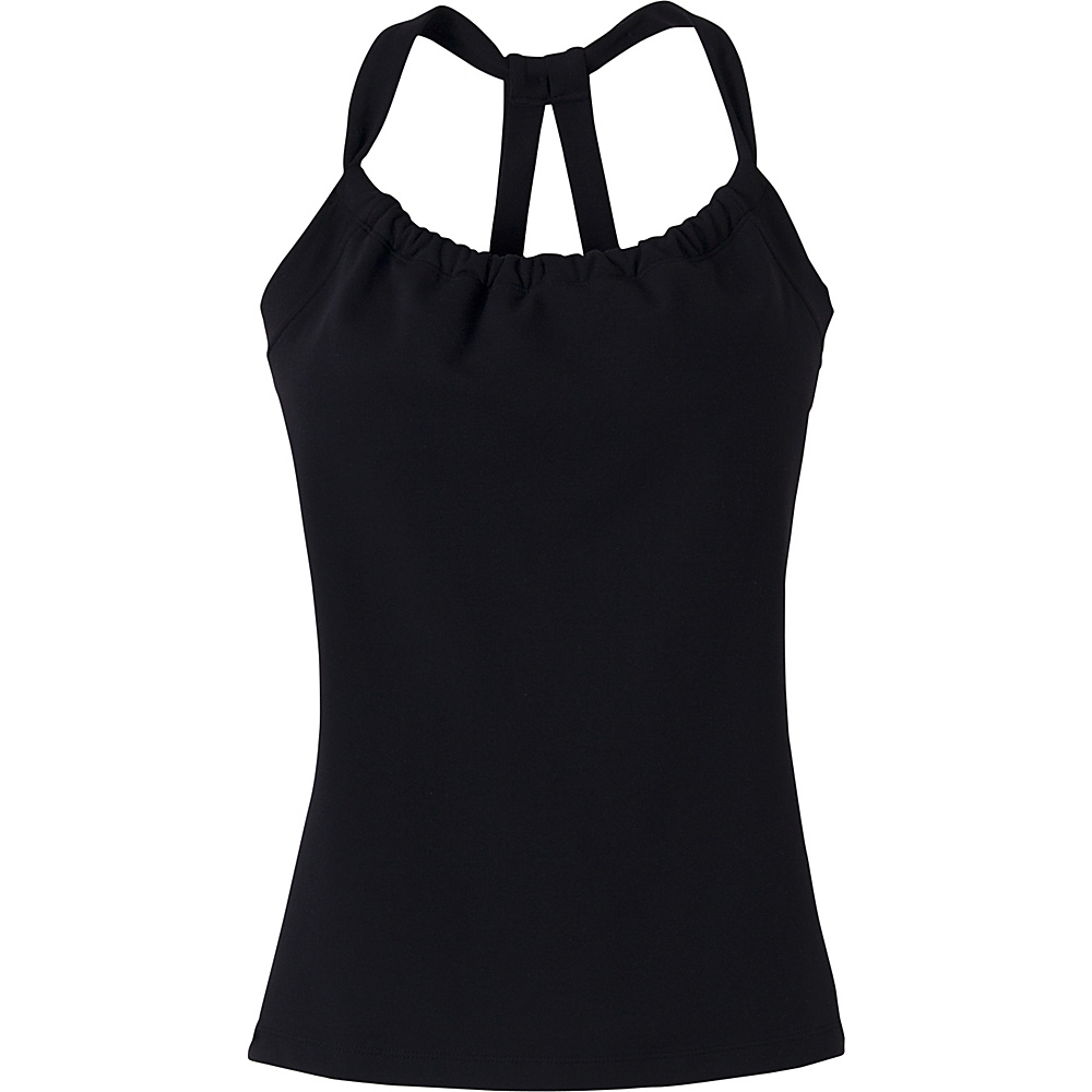 PrAna Quinn Chakara Top XS - Black - PrAna Womens Apparel - Apparel & Footwear, Women's Apparel