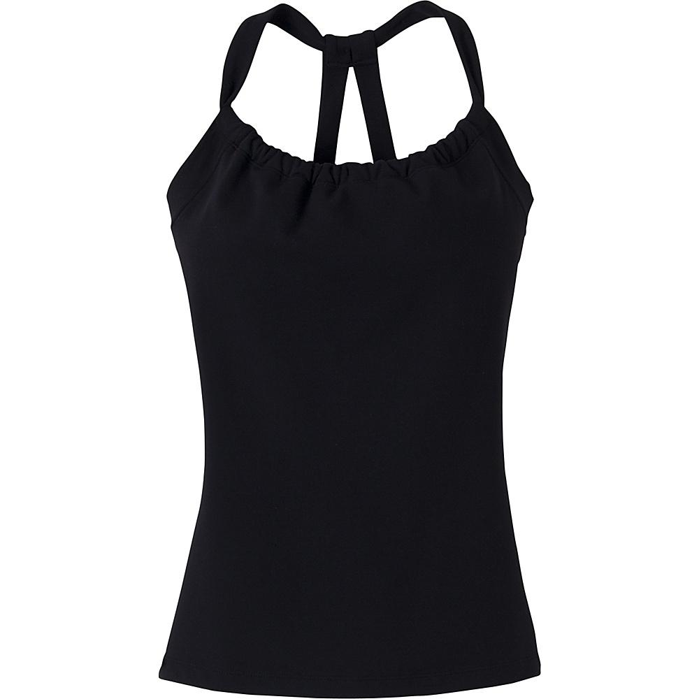 PrAna Quinn Chakara Top S - Black - PrAna Womens Apparel - Apparel & Footwear, Women's Apparel