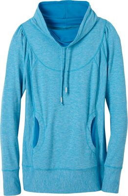 PrAna Ember Top L - Electro Blue - PrAna Women's Apparel