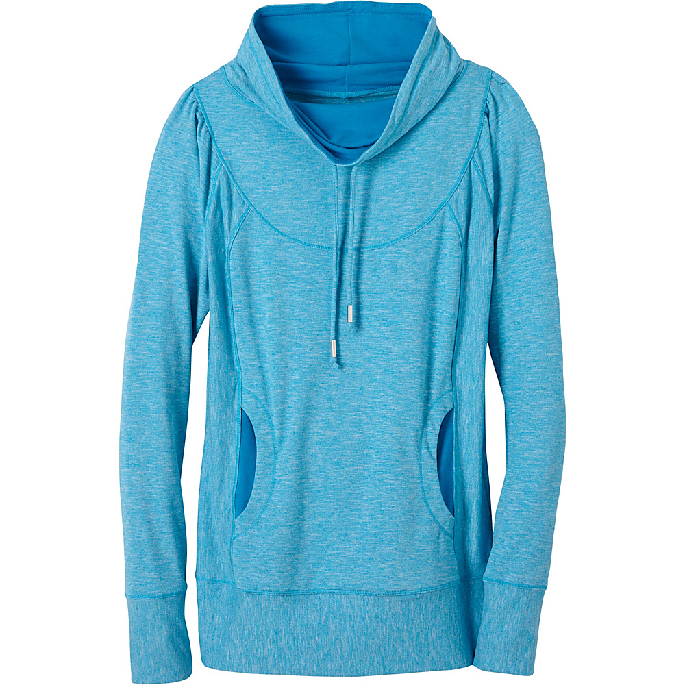 PrAna Ember Top L - Electro Blue - PrAna Womens Apparel - Apparel & Footwear, Women's Apparel