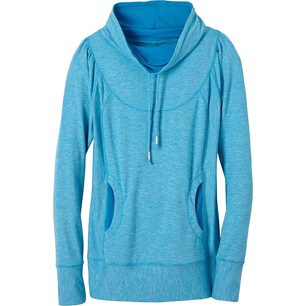 PrAna Ember Top XL - Electro Blue - PrAna Womens Apparel - Apparel & Footwear, Women's Apparel