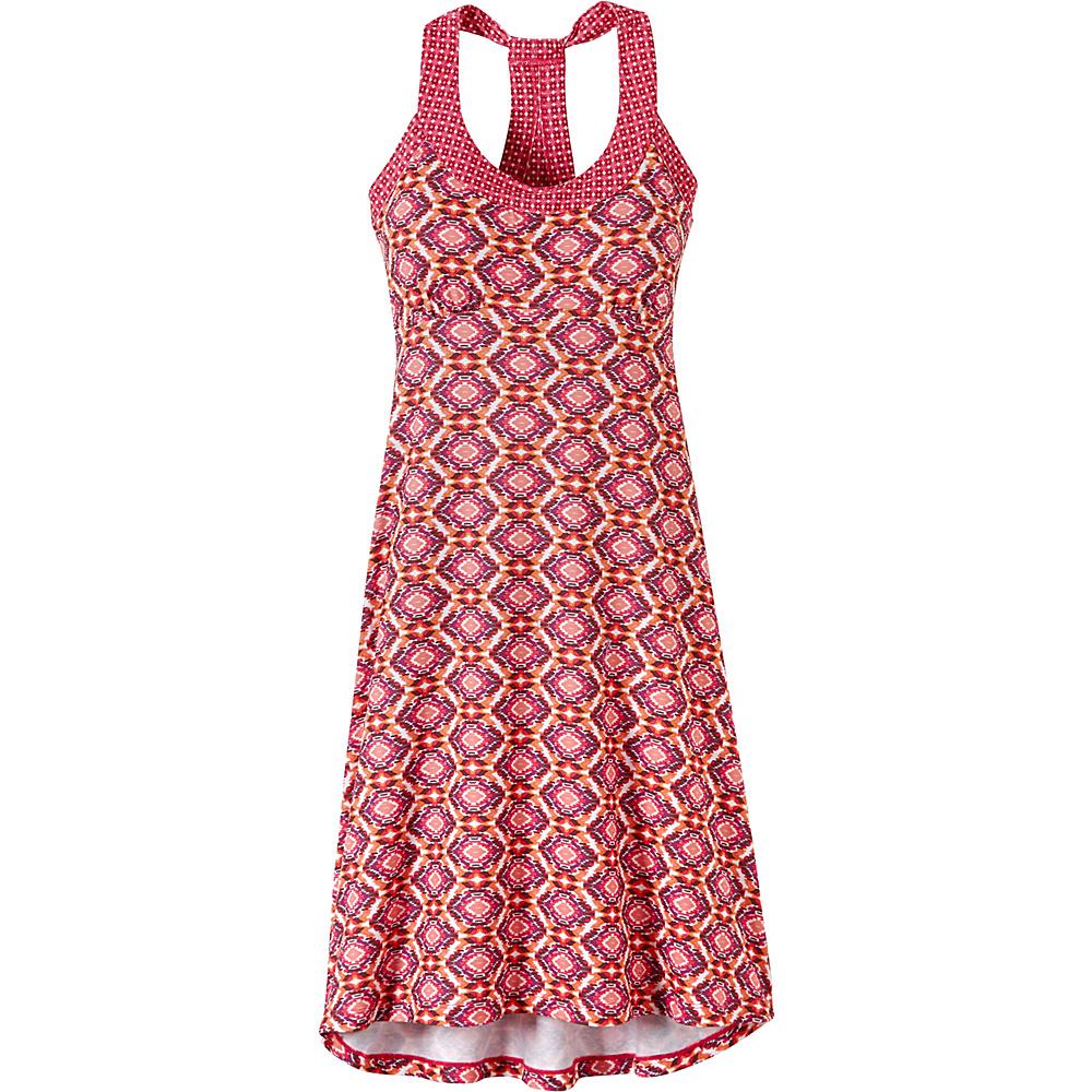 PrAna Cali Dress M - Azalea Guava - PrAna Womens Apparel - Apparel & Footwear, Women's Apparel