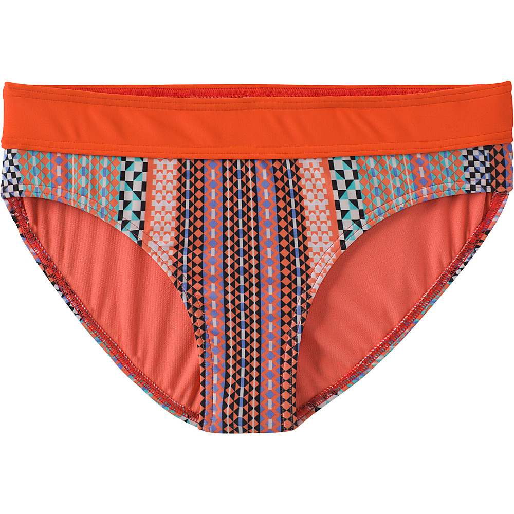 PrAna Ramba Bottoms XL - Sunlit Coral Carnivale - PrAna Womens Apparel - Apparel & Footwear, Women's Apparel